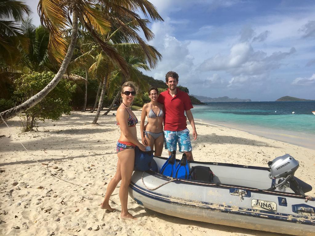 Mitsegeln in der Karibik