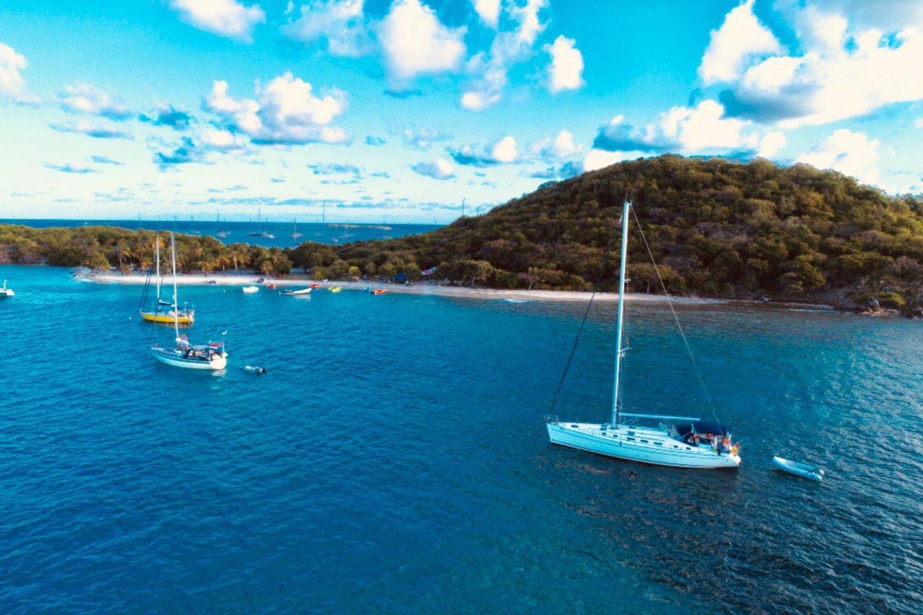 Bucht im Süden von Korsika