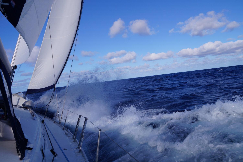 Mitsegeln über den Atlantik